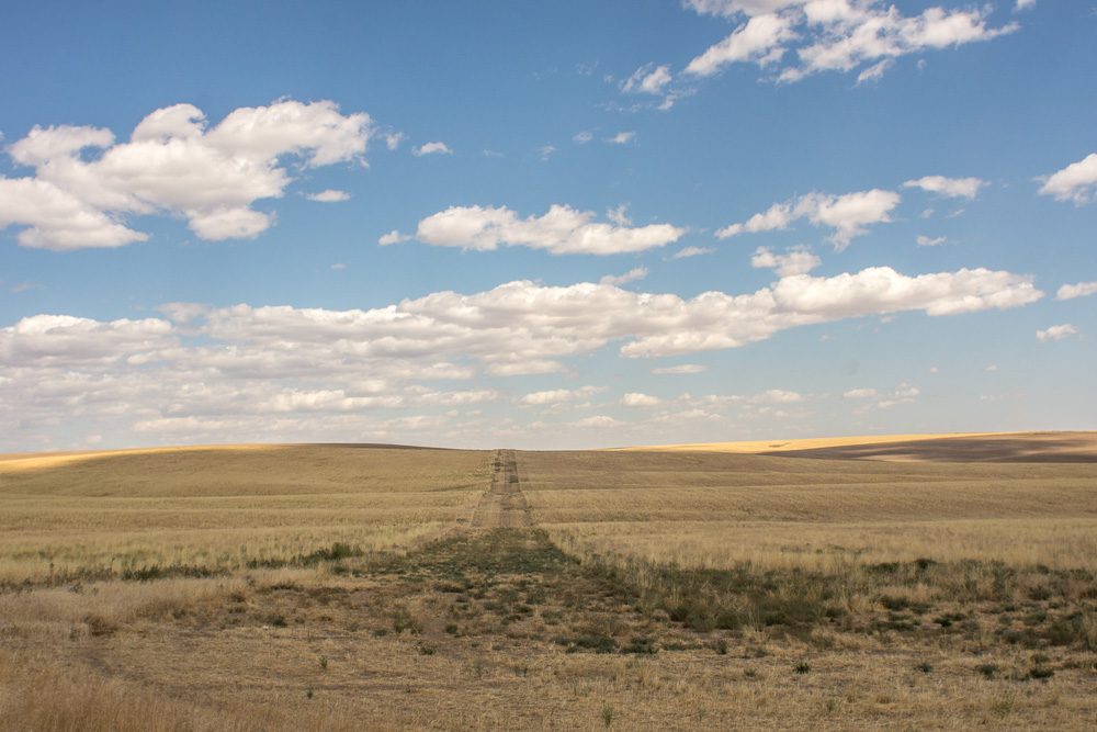 Road to Nowhere, Waterville Plateau