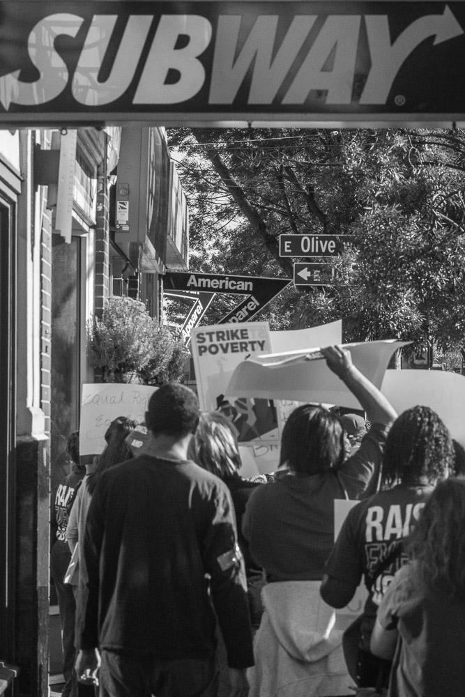 Labor Strikers in Seattle