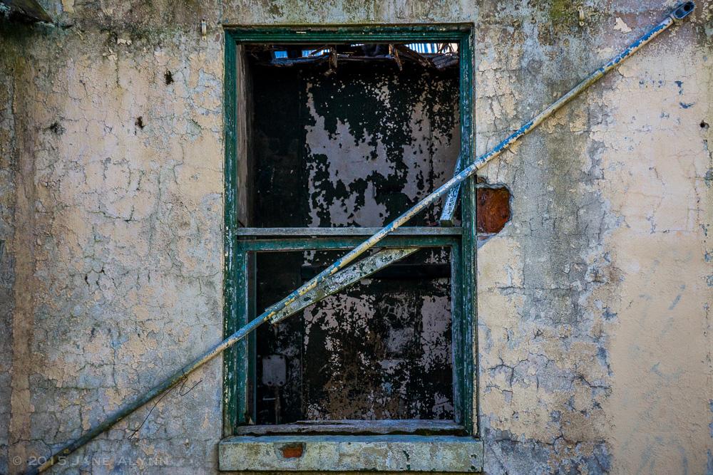 Barred Window, Northern State Hospital, Sedro-Woolley, WA