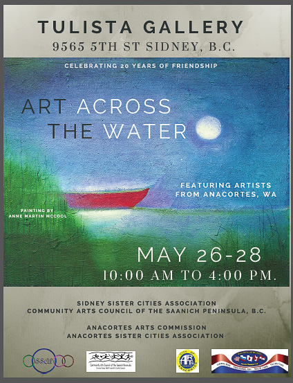"""""""Art Across the Water"""" Exhibition at Tulista Gallery in Sidney, B.C."""