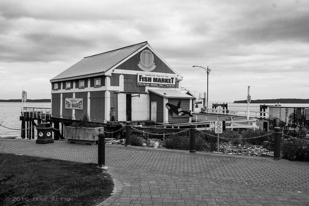 Beacon Wharf Fish Market, Sidney, BC