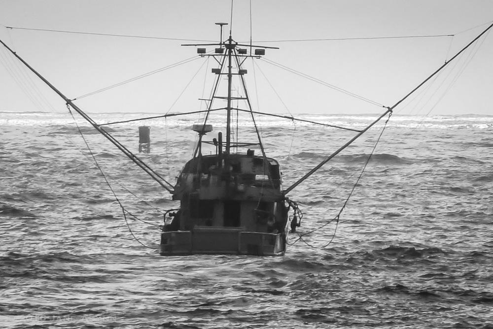 Fishing boat, Fort Bragg, California