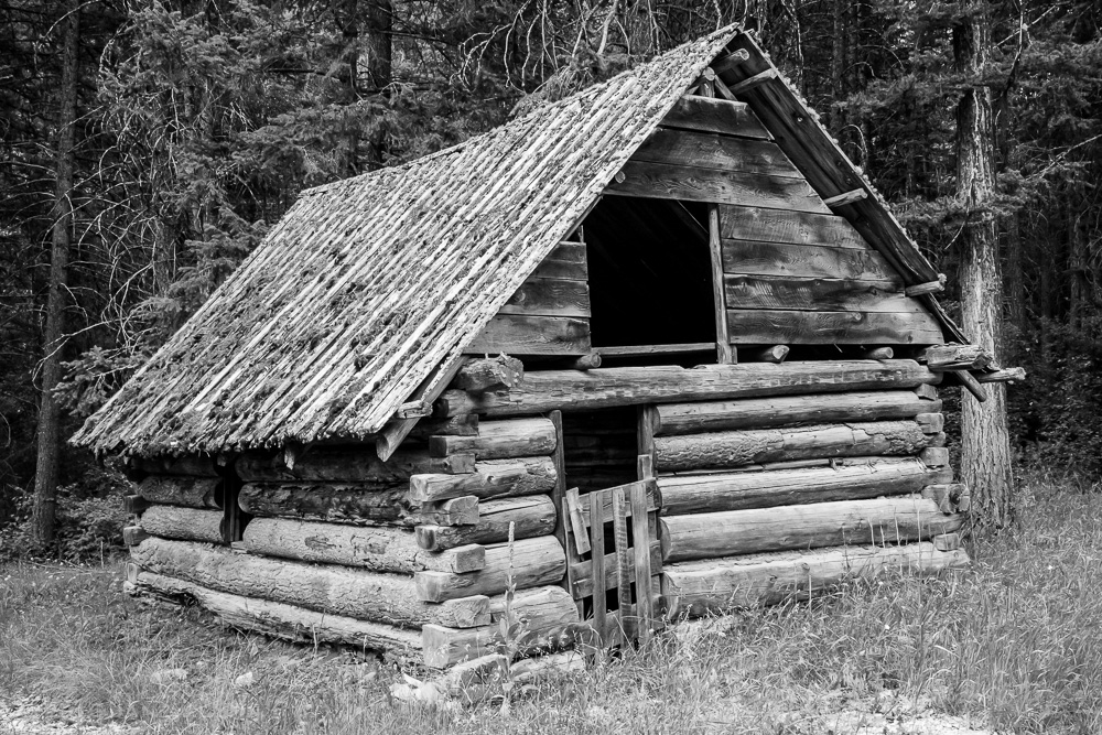 Abandoned cabin in Old Toroda