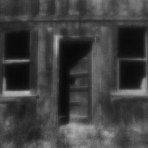 Bodie's Open Door, zone plate photograph, gelatin silver print